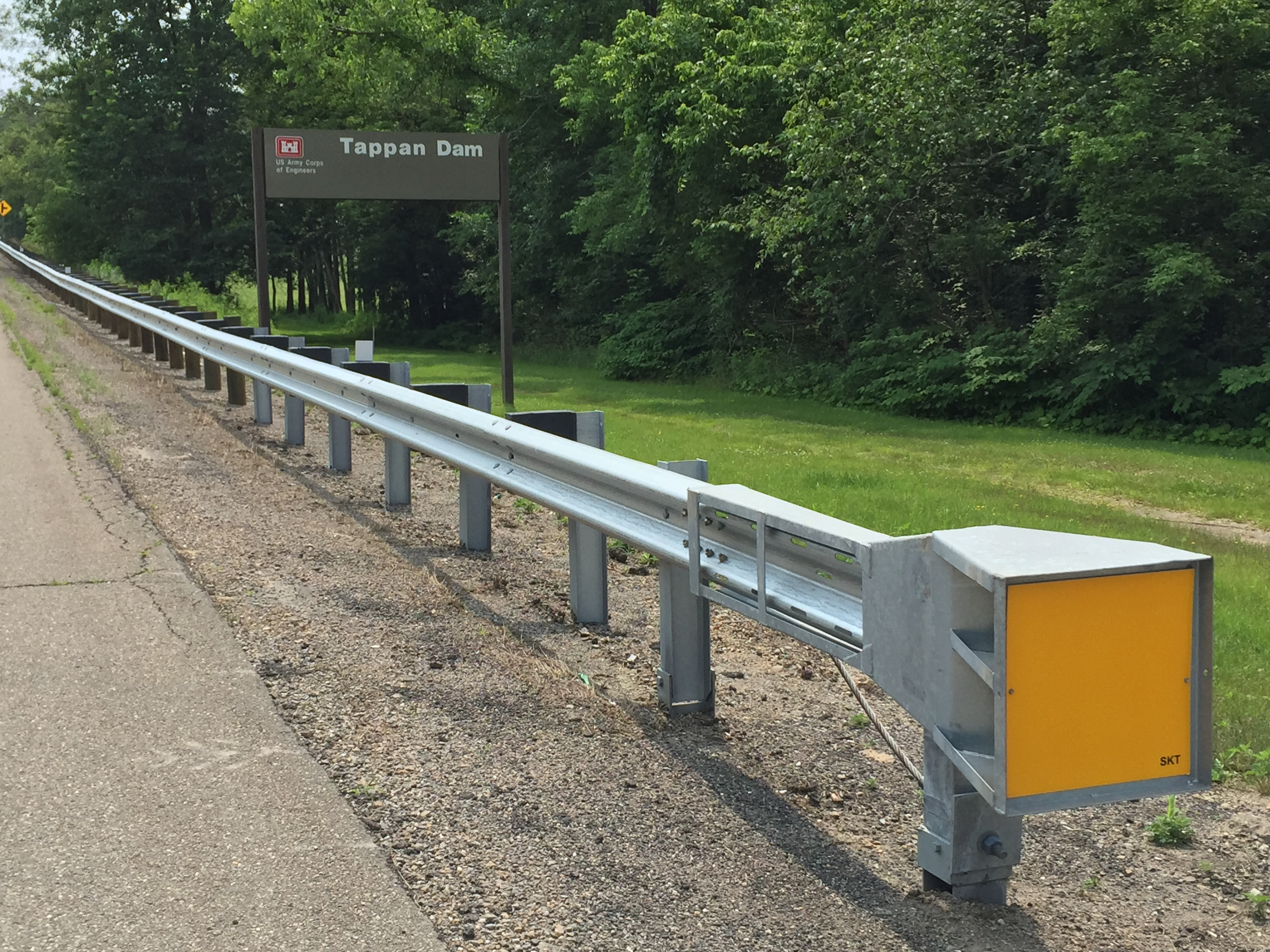 MGS Terminals (Midwest Guardrail System with 31